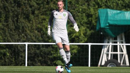 Loan keeper Ralf Fahrmann will be hoping for game time during City's friendly against Atalanta Pictu