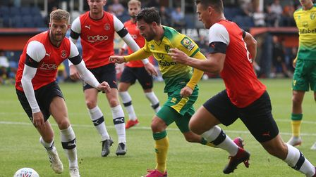 Patrick Roberts was too hot to handle for Luton Town at Kenilworth Road Picture: Paul Chesterton/Foc