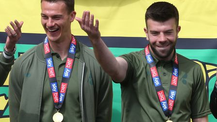 Christoph Zimmermann and Grant Hanley are two captaincy candidates for Norwich City's return to the