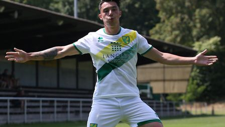 Young Norwich City striker Anthony Spyrou is hoping to secure a senior loan during his pre-season tr