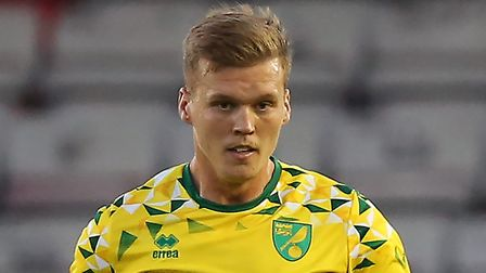Norwich City defender Sean Raggett is spending the season in League One with Portsmouth Picture: Jam