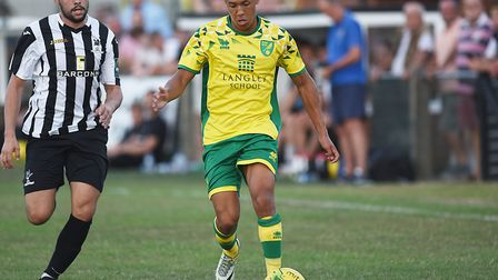 Norwich City defender Caleb Richards is on loan at Tampa Bay Rowdies Picture: Ian Burt
