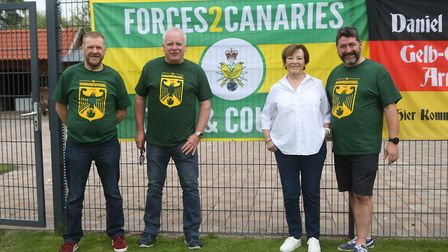 Norwich City's Joint Majority Shareholder Delia Smith during Norwich City training at Hotel-Residenc