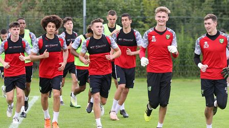 Norwich City's U23 squad are in Germany for pre-season Picture: Paul Chesterton/Focus Images