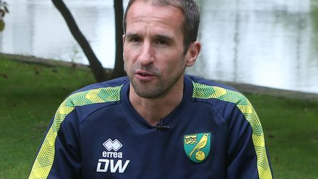 U23s head coach David Wright is the man Aidan Fitzpatrick needs to impress to start with at Norwich