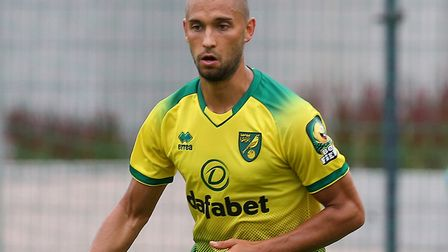 Moritz Leitner of Norwich in action during the Pre-season friendly match at Hotel-Residence Klosterp