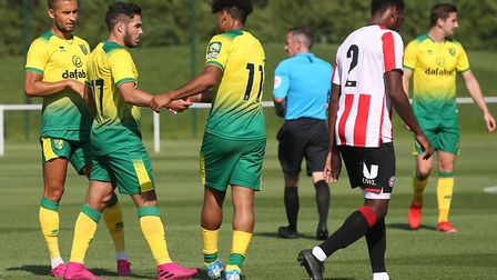 Emi Buendia put Norwich City in front but Brentford hit back to win 3-1 in a behind-closed-doors fri