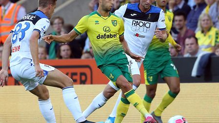 Moritz Leitner has had plenty of game time to catch Daniel Farke's eye during pre-season Picture: Pa