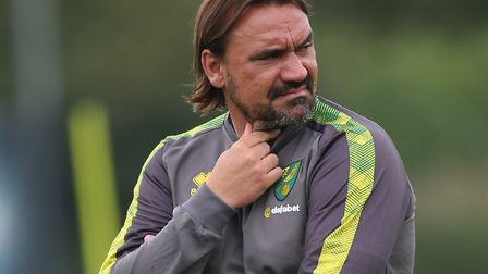 Daniel Farke knows Premier League rivals can spend far more than Norwich City Picture: Paul Chestert