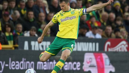 Norwich City defender Christoph Zimmermann wore the captain's armband for much of last season Pictur