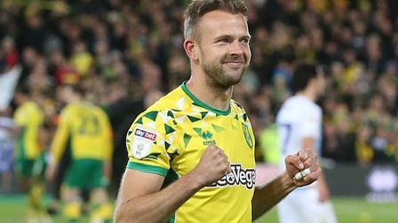 Jordan Rhodes has again been touted with a loan move to Norwich City in recent days Picture: Paul Ch