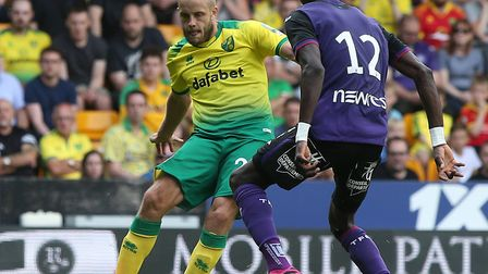 Teemu Pukki endured a frustrating day in front of goal against Toulouse Picture: Paul Chesterton/Foc