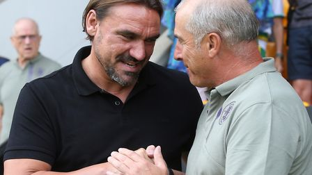 Daniel Farke was happy with his side's showing against Alain Casanova's Toulouse Picture: Paul Chest
