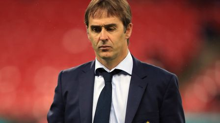 Former Spain manager Julen Lopetegui took over as Sevilla manager this summer Picture: Mike Egerton/