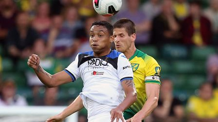 Luis Muriel, who impressed for Atalanta against Norwich during pre-season, was a team-mate of Amadou