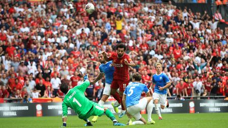 Jurgen Klopp will be hoping Mohamed Salah is firing on all cylinders against the Canaries Picture: P
