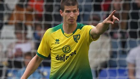 Timm Klose misses the Liverpool Premier League opener with a hip problem Picture: Paul Chesterton/Fo