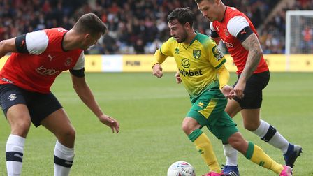 Patrick Roberts is extra keen to feature for Norwich City at Liverpool Picture: Paul Chesterton/Foc