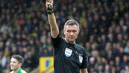 Andre Marriner is the VAR official for tonight's big game between Liverpool and Norwich Picture: Pau