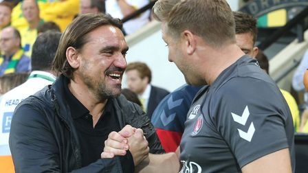 Norwich head coach Daniel Farke is ready to embrace the challenge at Anfield Picture: Paul Chesterto
