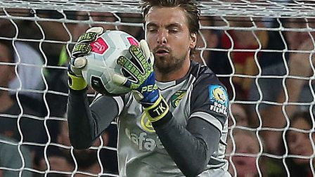 Tim Krul played a key part for City against the Reds