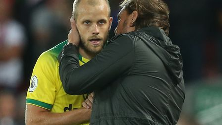 Teemu Pukki was replaced in the 83rd minute