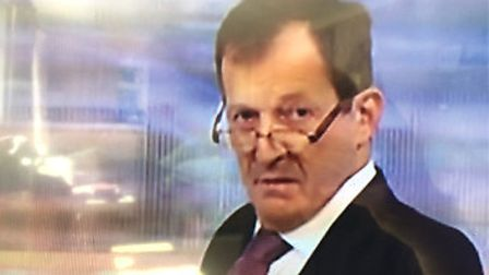 That look from Alastair Campbell on Peston, ITV