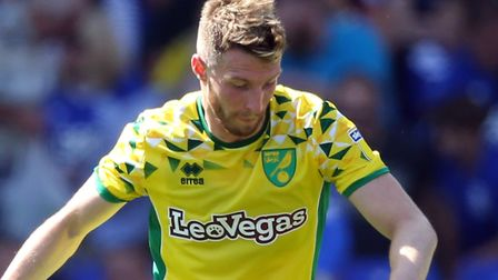 Norwich City defender James Husband was red carded for loan club Blackpool at the weekend Picture: P
