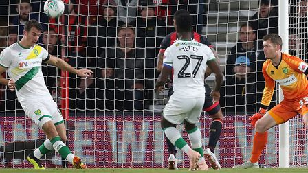 Norwich City reached the fourth round of the EFL Cup last season before losing to Bournemouth Pictur