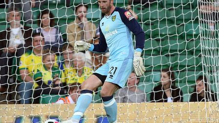 Loan keeper Ralf Fahrmann is competing with Tim Krul to be City's first-choice keeper Picture: Paul