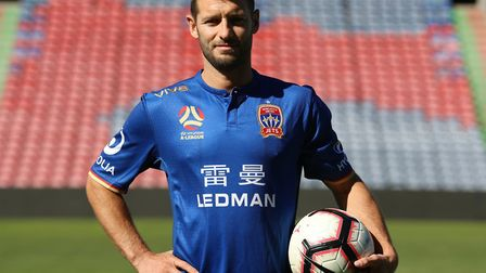 Newcastle Jets have signed Norwich City legend Wes Hoolahan on a one-year contract Picture: Newcastl