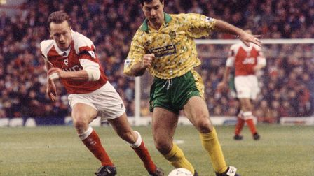 Mark Bowen made 399 appearances for Norwich City Picture: Archant Library