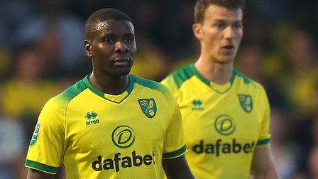 Will it be Ibrahim Amadou, left, or Christoph Zimmermann, right, who starts for Norwich City in cent