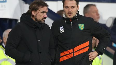 Daniel Farke's assistant coach Eddie Riemer was a central defender in the German lower leagues, play