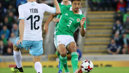 Norwich City left-back Jamal Lewis has become a regular starter for Northern Ireland Picture: Liam M
