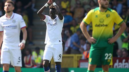 Tammy Abraham's brace sealed Norwich City's fate in a 3-2 Premier League defeat to Chelsea Picture: