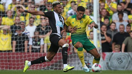 Newcastle United striker Joelinton had an afternoon to forget against City. Picture: Paul Chesterton