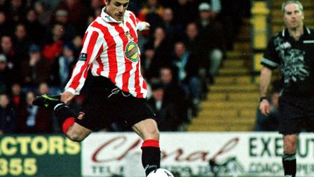 Kevin Phillips enjoyed a remarkable top-flight season with Sunderland during 199-2000 Photo: Peter
