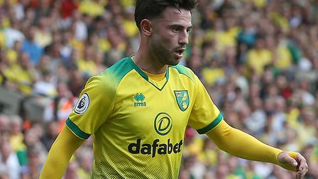 Manchester City loan signing Patrick Roberts is yet to make his competitive bow for Norwich City Pic