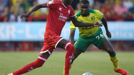 City fans got their first glimpse of Ibrahim Amadou in action Picture: Paul Chesterton/Focus Images