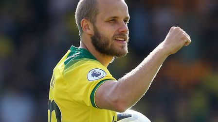 Norwich City striker Teemu Pukki has won the Premier League player-of-the-month for August Picture: