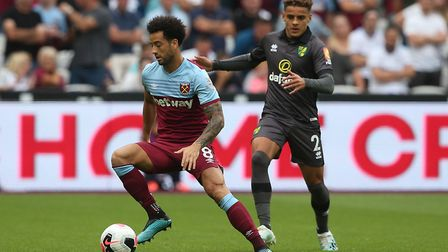Felipe Anderson was a constant thorn in the side of Norwich City. Picture: Paul Chesterton/Focus Ima