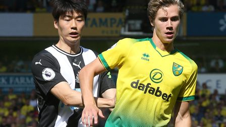Todd Cantwell's display against Newcastle United earned high praise from Daniel Farke Picture: Paul