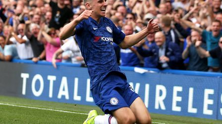 Midfield talent Mason Mount scored as Chelsea drew 1-1 at home with Leicester on Sunday Picture: Ste