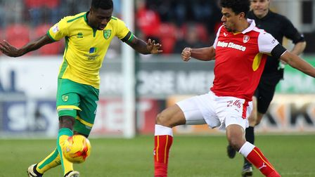 Alex Tettey is back in the mix after an injury-hit pre-season build up Picture: Paul Chesterton/Focu