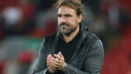 Daniel Farke is urging Norwich City's fans to deliver against Newcastle United Picture: Paul Chester
