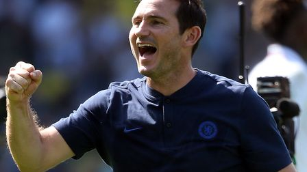 Frank Lampard savours his first Chelsea win at Norwich City Picture: Paul Chesterton/Focus Images Lt