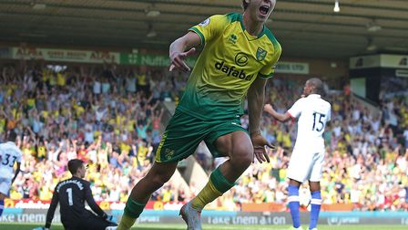 Todd Cantwell scored his first Premier League goal for Norwich City but it proved in a losing cause