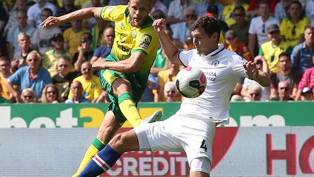Teemu Pukki scored his fifth goal of the season as Norwich City lost 3-2 at home to Chelsea Picture