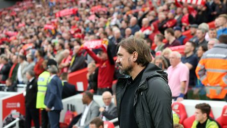 Norwich City head coach Daniel Farke - a man who stuck to his principles at Anfield Picture: Paul Ch